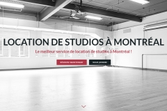 Studio spaces for rent in Montreal